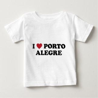I Heart Porto Alegre Brazil Baby T-Shirt