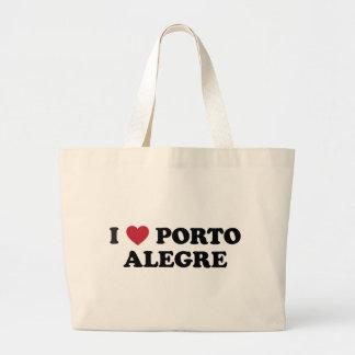 I Heart Porto Alegre Brazil Tote Bag