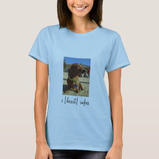 i [heart] - Portrait Womens T-Shirt