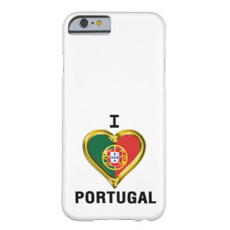 I HEART PORTUGAL BARELY THERE iPhone 6 CASE