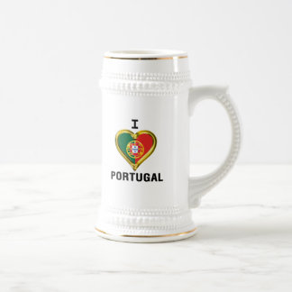 I HEART PORTUGAL BEER STEIN