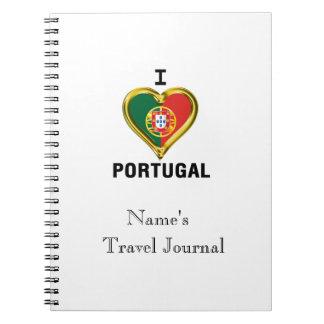 I HEART PORTUGAL NOTEBOOK