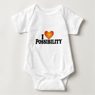 I (heart) Possibility - Lite Multi-Products Baby Bodysuit