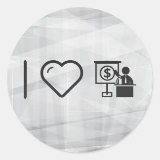 I Heart Presentations Classic Round Sticker