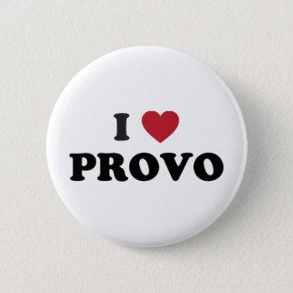 I Heart Provo Utah Button