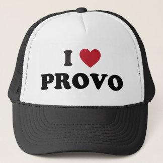 I Heart Provo Utah Trucker Hat