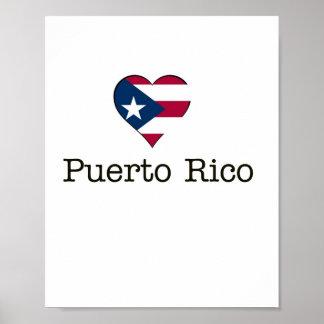 I heart Puerto Rico poster