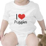 I Heart Puggles Tee Shirts