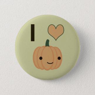 I heart Pumpkin Button