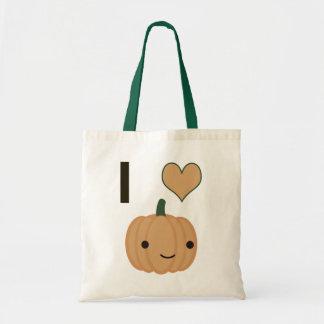 I heart Pumpkin Tote Bag