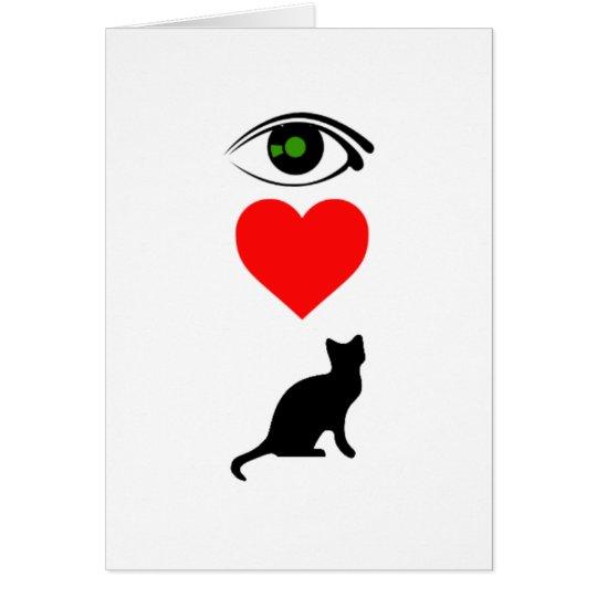 I Heart Pussy_Cat Card