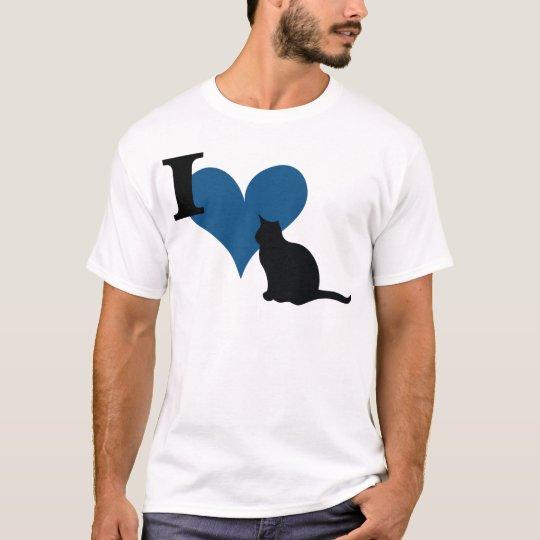 I Heart Pussy Cat T-Shirt