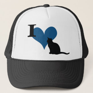 I Heart Pussy Cat Trucker Hat