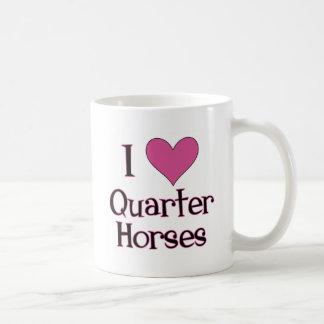 I Heart Quarter Horses Coffee Mug