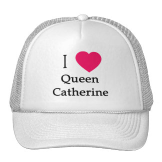 I Heart Queen Catherine Apparel, Buttons, Mugs Mesh Hat
