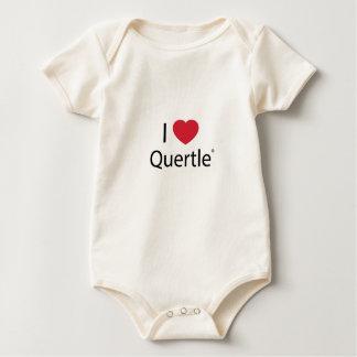 I Heart Quertle Baby Creeper! Baby Bodysuit
