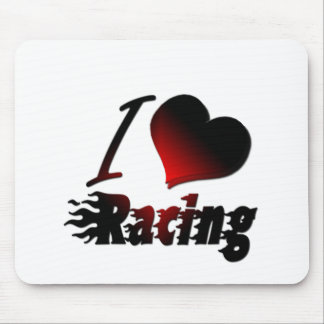 I Heart Racing #1 Mouse Pad