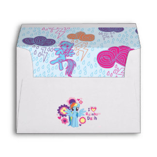 I Heart Rainbow Dash Envelope