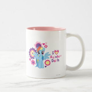 I Heart Rainbow Dash Mug