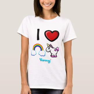 I Heart Rainbows and Unicorns! T-Shirt