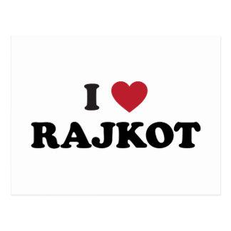I Heart Rajkot India Postcard