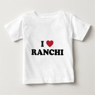I Heart Ranchi India Baby T-Shirt