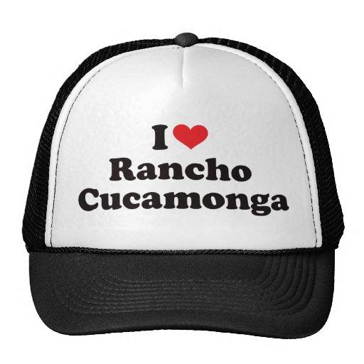 I Heart Rancho Cucamonga Trucker Hat