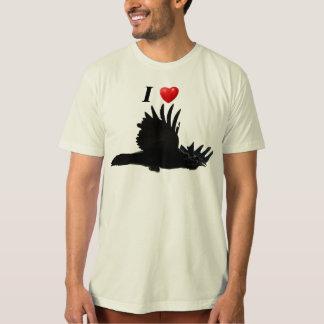 I Heart Ravens Flying Raven T-Shirt