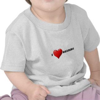 I heart reading t-shirt