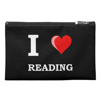 I Heart Reading Travel Accessories Bags