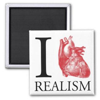I Heart Realism Fridge Magnet