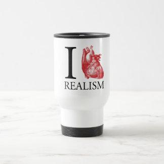 I Heart Realism Travel Mug