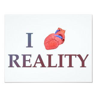 I Heart Reality Card
