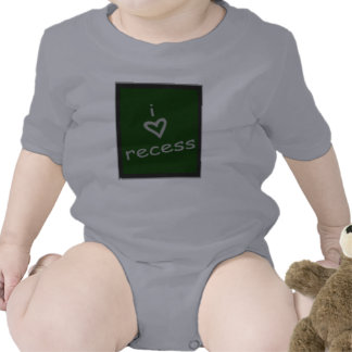 i heart recess baby tee