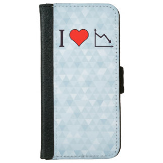 I Heart Recession Wallet Phone Case For iPhone 6/6s
