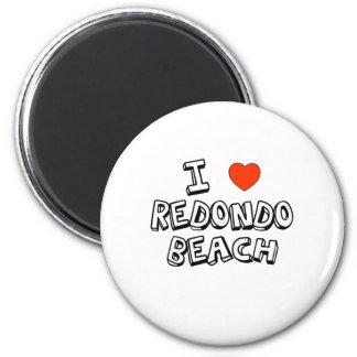 I Heart Redondo Beach Magnet