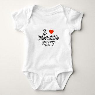 I Heart Redwood City Baby Bodysuit