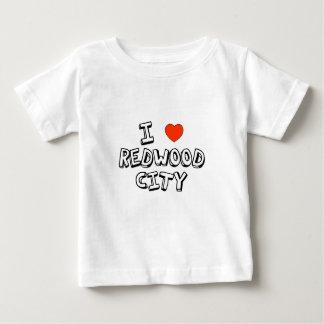 I Heart Redwood City Baby T-Shirt
