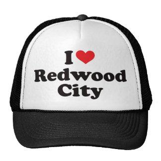 I Heart Redwood City Trucker Hat