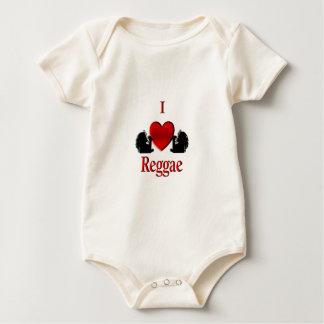 I Heart Reggae Baby Creeper