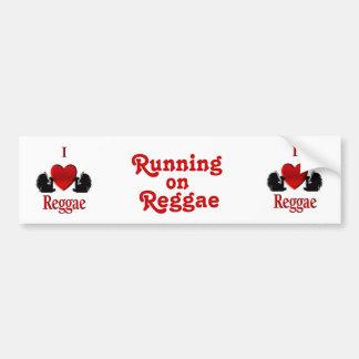 I Heart Reggae Bumper Stickers
