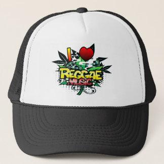 I Heart Reggae Music Trucker Hat