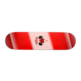 I Heart Reggae Skateboard