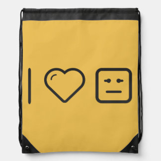 I Heart Relief Emoticons Backpacks
