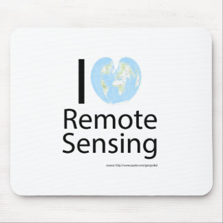 I heart Remote Sensing Mouse Pad