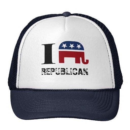 I heart REPUBLICAN Hat