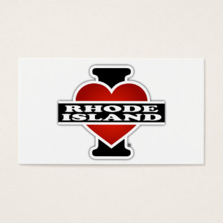 I Heart Rhode Island Business Card