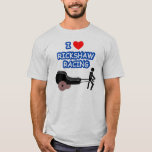 I Heart RICKSHAW RACING T-Shirt