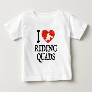I Heart Riding Quads Baby T-Shirt
