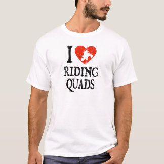 I Heart Riding Quads T-Shirt